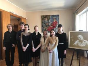 Участники концерта в Мемориальной квартире С.Рихтера