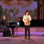 Артем Маракушев, учащийся 4 класса - преподаватель Горюнов В.М., концертмейстер Платонова Д.В.