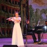 Алена Панова, учащаяся 8 класса - преподаватель Белоколенко-Каргина Н.С., концертмейстер Аверин П.В.